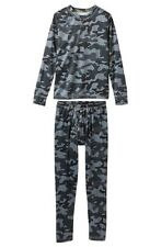 Climatesmart Little Boys' Comfortech Poly Base Layer Tee & Pants NEW XS 4/5 CAMO