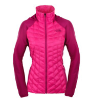 NEW!! The North Face Women's Thermoball Hybrid Glow Pink/Fuchsia Jacket