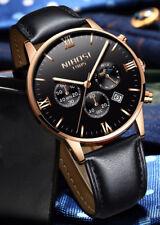 Armbanduhr Damen Herren Chronograph Nibosi