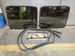G10, G20, G30 Chevy GMC Van Pop Out  REAR DOOR  Windows Vandura 70-97 Swap kit.