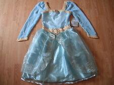 NEW Disney Store MERIDA Girls COSTUME L 9/10 BRAVE Halloween PRINCESS Dress Up