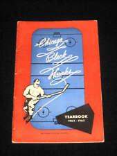1964 - 1965 CHICAGO BLACK HAWKS Media Guide / Yearbook
