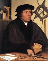 Art Oil painting Holbein Hans - Male Portrait of Nikolaus Kratzer canvas