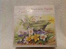 "MB Marjolein Bastin 750 Pc ""Nature's Treasures""  2003  Finished Puzzle 18""x 24"""