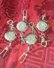 Retractable reel key chain X 4