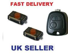 Peugeot 206 207 307 407 Remote Key Fob Repair Switches only (Fob not for sale)