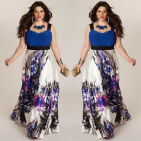 Plus Size Fashion Women Evening Party Prom Gown Formal Bridesmaid Cocktail Dress