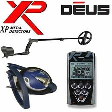 """NEW XP DEUS WIRELESS Metal Detector With 11"""" DD COIL + REMOTE + WIRED HEADPHONES"""