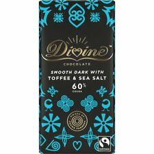 Divine | Chocolat Foncé Avec Caramel & Sel de Mer 90 g (pack 15) | expiré-cleara...