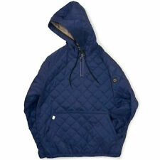 Chari & Co NYC bicycle & Coe parka pullover men gap Dis QUILT WARM TECH Hoodie M