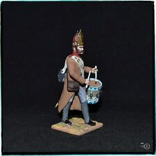 Russian grenadier drummer Napoleonic wars 1812-1814 painted tin soldier 54 mm