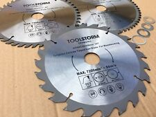 3X216MM Compound Mitre Saw/Table Saw/Drop Saw Blade 24/48/60T 30,25.4,20,16,5/8""