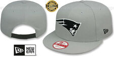 Patriots 'NFL TEAM-BASIC SNAPBACK' Grey-Black Hats by New Era