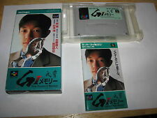 Take Yutaka GI Memory Super Famicom SFC SNES Japan import complete in box