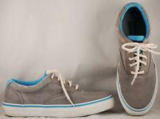 Men's Sperry Top-Sider Gray Canvas Sneakers 9.5 M