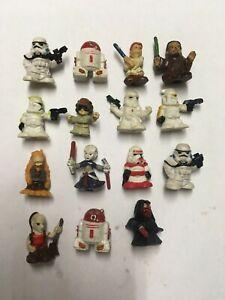 Star Wars Squinkies MAUL JAR-JAR CLONE Troopers ect