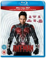 Ant-Man [Blu-ray 3D] [Region Free] [DVD][Region 2]