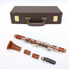 Yinfente Advanced Redwood Clarinet Silver Plated Eb Key Nice Sound #JE6
