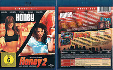 HONEY und HONEY 2: LASS KEINEN MOVE AUS --- Blu-ray --- 2-Movie-Set ---