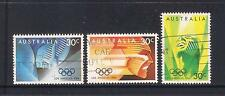 (UXAU059) AUSTRALIA 1984 Olympic Games Los Angeles fine used complete set