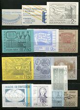 Briefmarken Schönes Lot Briefmarken Aus Schweden Gestempelt Von 1955-1967