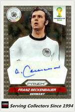2014 Panini FIFA World Cup Soccer Signature Card Franz Beckenbauer(Germany)-Rare