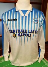 MAGLIA SHIRT JERSEY ufficiale SSC NAPOLI LOTTO CENTRALE DEL LATTE 1996