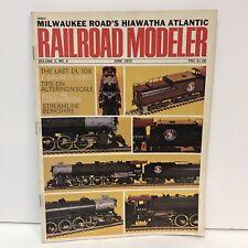 Railroad Modeler Magazine Back Issue June 1972 DL 109 Z Gauge Altering Scale PA