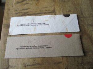 Marques pages collectors-Lot papier fabriqué a la main-Esquerdes,Parc des Caps