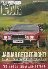 Performance CAR 11/1986 featuring Porsche, Jaguar, BMW, Ford Escort RS Turbo