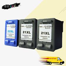 Ink Cartridge For HP 21XL 22XL Use in OfficeJet 4300 4310 4315 J3600 J3625 3PCS