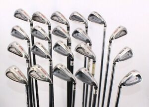 Lot of 24 Wilson Golf Single Irons 5 - 9 Irons Fitting and Non-Fitting Clubs
