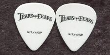 TEARS FOR FEARS 2010 Concert Tour Guitar Pick!!! custom stage Pick EAST COAST
