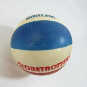 "Vintage Harlem Globetrotters Mini Basketball 4"" Rubber Ball SGA Stadium Giveaway"