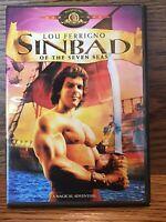 Sinbad Of The Seven Seas (DVD) Disc VG Lou Ferrigno