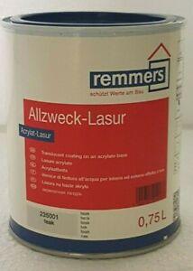 0,75 L Remmers Allzweck - Lasur Schutzlasur Holzlasur