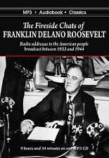 The Fireside Chats of Franklin Delano Roosevelt - Mp3 Cd Audiobook in Dvd Case