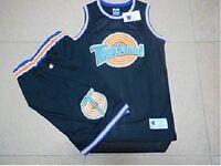 Sets Space Jam Jersey +Shorts 23 Jordan Squad Bunny Taz Bill Bugs Lola Black