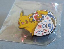 TRES RARE PIN'S PYEONGCHANG 2018 OLYMPIC TOKYO TV POKEMON NINTENDO PIKACHU