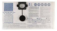 Gisowatt 83 142b0k Confezione 5 Sacchi Filtro Carta verticale per Techno Cleaner