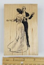 Dancing Couple Rubber Stamp by Paper Inspirations DB144