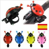Timbre Alarma para Bicicleta Bici Metál Mariquita Ciclismo ladybug ROJO