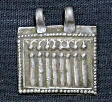 Amulet/Pendant Of 7 Form Goddess Saraswati Print On Silver Amulet EBAY NO. 30