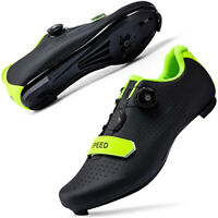 Cycling Shoes for Mens Road Riding Sneakers Compatible SPD Delta Bike Spin Shoes