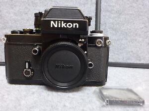 Nikon F2AS Black Body Meter Inoperative Nikon DP-12 Read Description