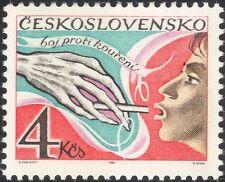 Czechoslovakia 1981 Anti-Smoking/Health/Welfare/Medical/Drugs 1v (n34339)
