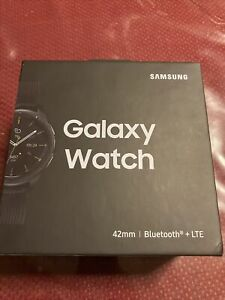 Samsung Galaxy Watch SM-R815U 42mm Midnight Black Case Classic Buckle Onyx Black