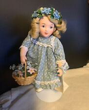 """Virginia"" Authentic Porcelain Bessie Pease Gutmann Doll The Hamilton Collection"