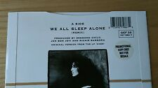"Rare Cher We Sleep Alone Uk 7"" With Promo Sticker A1 B1 Ex/Ex+ Bon Jovi Pop Rock"