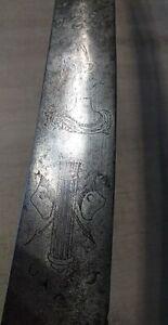 18th century hunting dagger / sword
